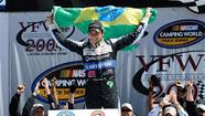 Nelson Piquet Jr. wins Truck race in Michigan