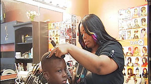 Free haircuts help kids get ready to head back to class in Roanoke
