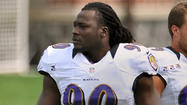 Pernell McPhee, who has started at defensive end in both of the Ravens' first two preseason games, and special teams coordinator Jerry Rosburg, are absent from the team's practice at Stevenson University's Mustang Stadium in Owings Mills.