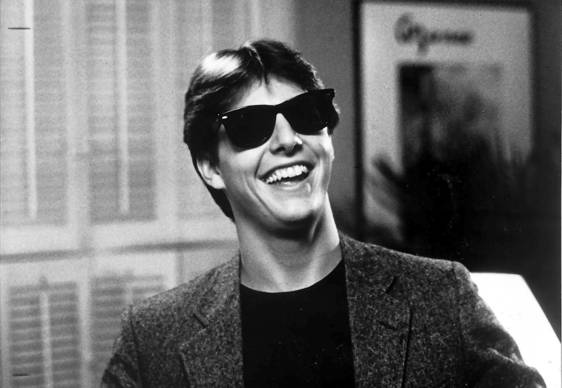 "Long and a 20-year-old Tom Cruise (pictured her in ""Risky Business"") teamed for this raunchy 1983 comedy directed by Curtis Hanson (""L.A. Confidential"")."
