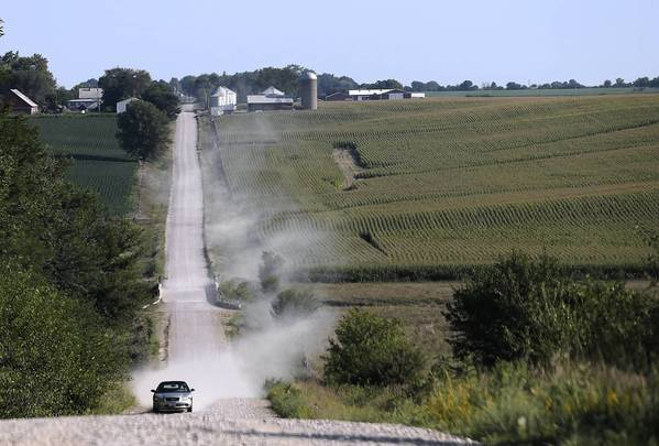 The corn fields in State Center, Iowa, aren't the only ones affected by the hot and dry summer. The National Corn Growers Association said last week that the federal government might be justified in waiving its requirement to turn nearly 5 billion bushels of corn into ethanol for the gas tank.