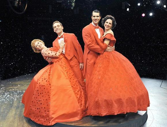 """White Christmas"" stars Tammy Mader, Andy Lupp, Rod Thomas and Stephanie Binetti"
