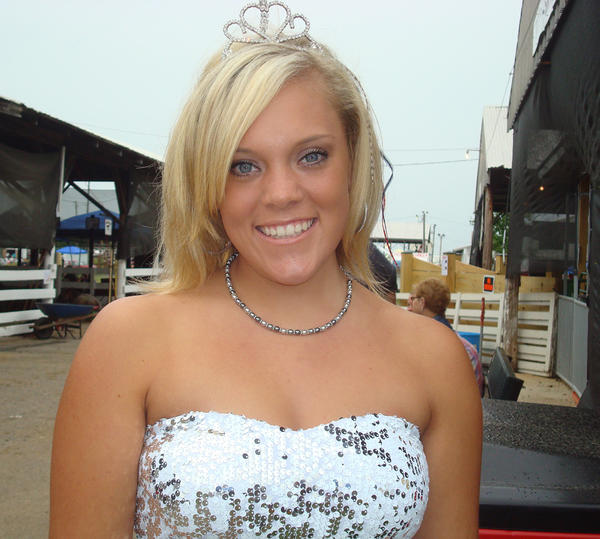 Chelsea Carey of Harpers Ferry, W.Va., was crowned Miss Jefferson County Fair 2012 Saturday night and began her responsibilities Sunday afternoon at the Jefferson County Fair in Leetown, W.Va.