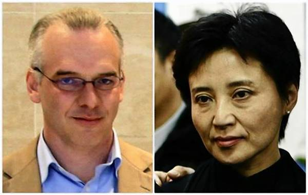 Combination photo shows British businessman Neil Heywood and Gu Kailai, wife of China's former Chongqing Municipality Communist Party Secretary Bo Xilai