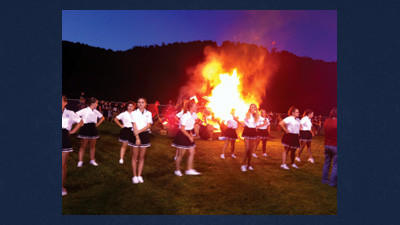 The Meyersdale Athletes are on fire for the upcoming seasons. They all hope to bring Meyersdale a winning record this season. They began the school year with a bonfire held at Raider Fest Saturday.