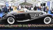 A Ford sets record at Pebble Beach auction; a Mercedes falls short