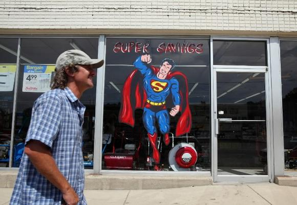 Superman in Plano