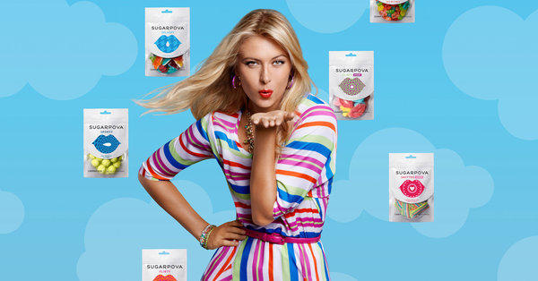 Maria Sharapova launches Sugarpova candy company