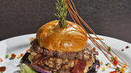 One-pound Stuffed Burger