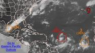 There is an 80 percent chance Tropical Storm Isaac will have formed near the Lesser Antilles in the eastern Caribbean Sea by Wednesday morning, according to the National Hurricane Center.