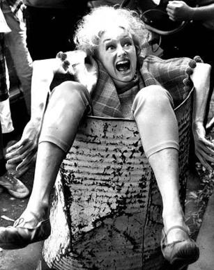 "Phyllis Diller in the 1967 movie ""Eight on the Lam,"" which starred Bob Hope. She was in more th"