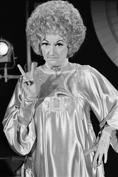 Phyllis Diller on The Glen Campbell Show on October 4, 1971.