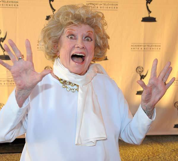 Phyllis Diller attends 'From Stand-up to Sitcom' presented by the Academy Of Television Arts & Sciences at the Leonard H. Goldenson Theatre on October 6, 2008 in North Hollywood, Calif.