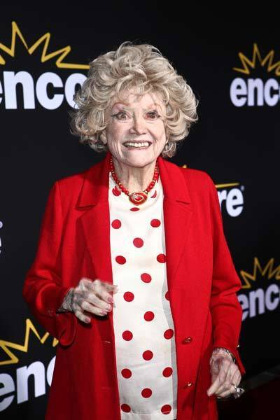 Phyllis Diller arrives at the 'Method to the Madness of Jerry Lewis' premiere at Paramount Theater on the Paramount Studios lot on December 7, 2011 in Hollywood, Calif.