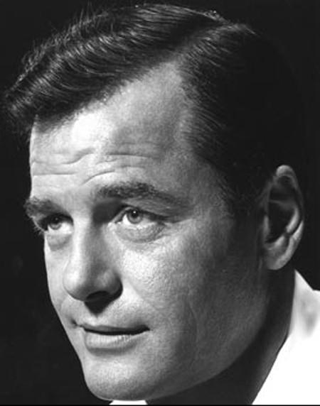 "Born Byron Barr, <a href=""http://projects.latimes.com/hollywood/star-walk/gig-young/"">Gig Young</a> entered Hollywood with high hopes and earned the reviews to match them.  <br /> <br /> Even so, with more than 55 film credits and an Oscar he was dissatisfied. ""There are not more than five that were any good or any good for me,"" Young said.  <br /> <br /> This dissatisfaction culminated in the murder-suicide of his wife in 1978. A diary in the blood-soaked bedroom where the couple died was open to Sept. 27, and ""We Got Married Today"" was written on the page. Young was married five times. <br /> <br /> <a href=""http://projects.latimes.com/hollywood/star-walk/gig-young/""> Gig Young's Hollywood star</a>."
