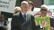 SAN DIEGO -- Gov. Jerry Brown came to at San Diego City College Monday on the first day classes to campaign for a tax increase to help finance education from kindergarten through community college.