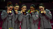 U.S. Women's Gymnastics Team Wins Gold