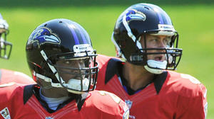 Painter has outplayed Taylor in preseason games, but Ravens' backup QB battle wages on