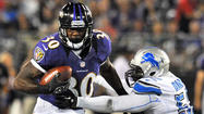Bernard Pierce making a case to be Ravens' No. 2 running back