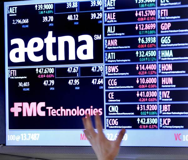 Aetna plans to acquire Bethesda-based Coventry Health Care Inc. for $5.6 billion.