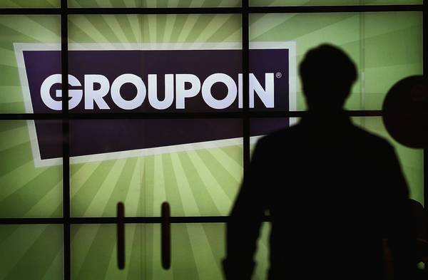 Groupon's stock hit an all-time low amid persistent worries over the daily deal company's growth prospects and the confidence level of its institutional investors.