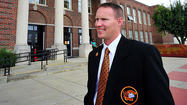 Monday was the start of Trent Sherman's first full year as Martinsburg High School principal, but he is a well-known figure throughout the school.