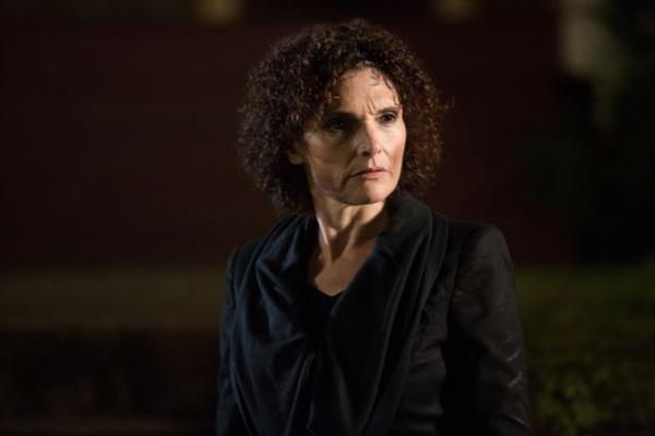 "Mary Elizabeth Mastrantonio, currently playing Kelly Burkhardt in NBC's ""Grimm,"" was born in Lombard, grew up in Oak Park and attended the University of Illinois."