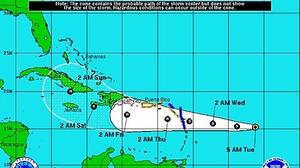 Tropical Depression 9 emerges; forecast to be hurricane