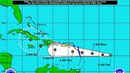 Tropical Depression 9 is projected to strengthen into a Category 2 hurricane.