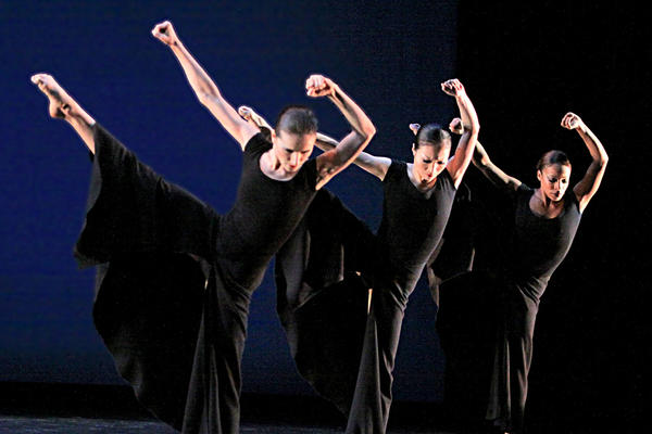 "Martha Graham Dance Company in ""Chronicle."""