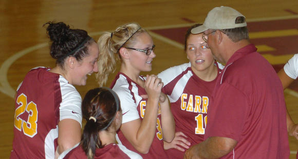 Garrard County volleyball