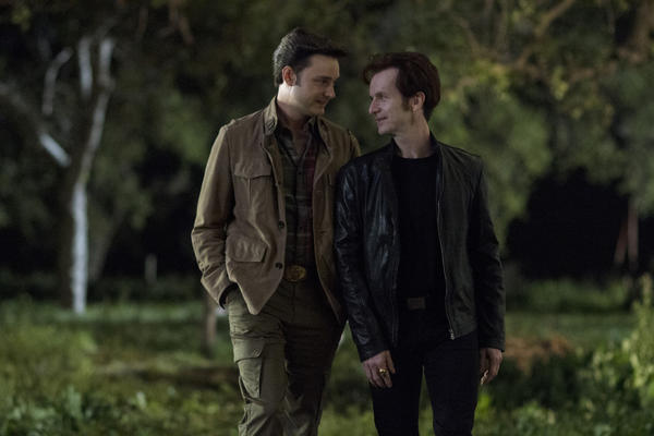 'True Blood': The best and worst of Season 5 [Pictures]: Russell Edgington and Steve Newlin. Heres hoping the couple who slaughters frat brothers together, stays together.