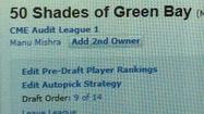 The funniest, punniest fantasy football team names around