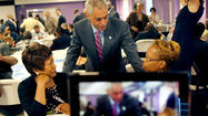 Mayor Rahm Emanuel on Tuesday offered a preview of the theme of his speech at the Democratic National Convention next month: his insider's view of the moves President Barack Obama made after taking office.