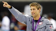 A gold-medal-winning Olympic swimmer is going to be appearing this weekend at the Maryland State Fair.