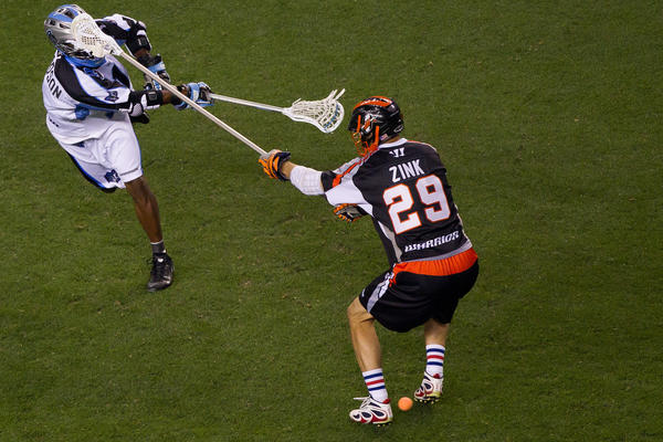 Lee Zink and the Denver Outlaws will play the Long Island Lizards in the MLL semifinals Saturday in Cambridge, Mass.