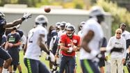 Seahawks rookie quarterback Russell Wilson will get the start in the team's third preseason game Friday in Kansas City, coach Pete Carroll announced Tuesday.