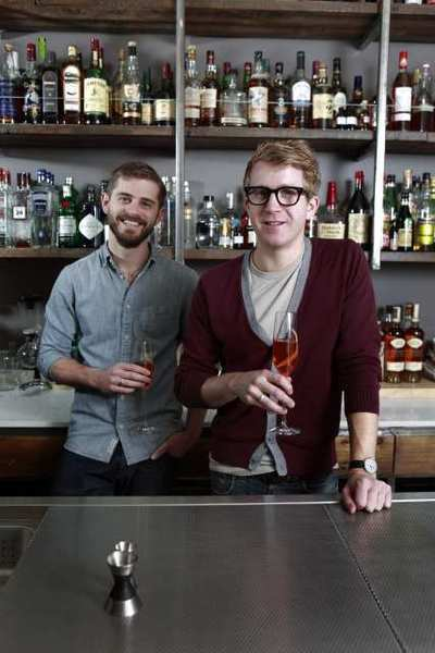 Alex Day (right), a partner at drinks consultancy Proprietors LLC, will be at the Taste food festival.