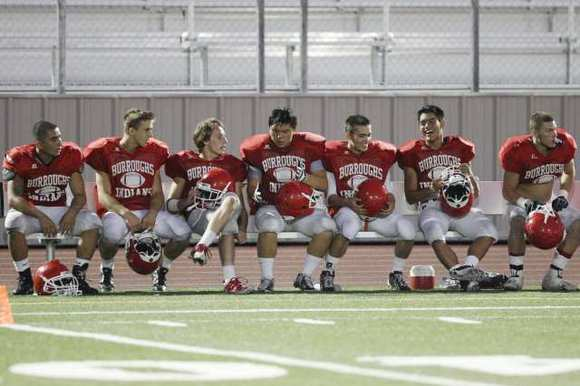 Burroughs High is the only area football team to make it to the playoffs in 2011.