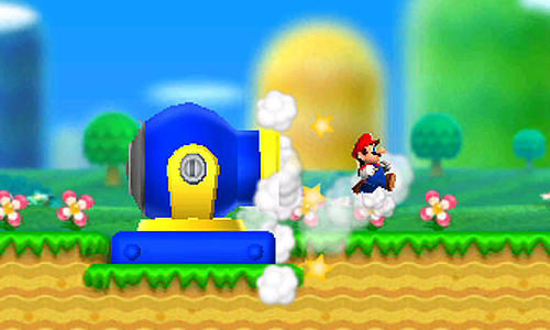 A screenshot from New Super Mario Bros. 2.