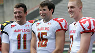 Maryland redshirted freshman quarterbacks C.J. Brown and Danny O'Brien in 2009. The two players had to wait for their turn.