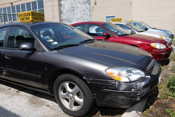 Tribune report in 2011 found driver's ed cars at Dunbar High School in Chicago included several 2002 Ford Tauruses, a 2001 Chevrolet Cavalier and a 2000 Ford Focus.
