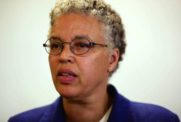 "Cook County Board President Toni Preckwinkle, about her rip against Reagan, said: ""If I had it to do over again, I certainly wouldn't say anything quite so inflammatory."""