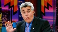 "<strong><strong>Jay Leno</strong></strong> is continuing to take the <a href=""http://www.eonline.com/news/339116/the-tonight-show-lays-off-employees-jay-leno-takes-a-pay-cut"" target=""_blank"">layoffs at work</a> standing up."