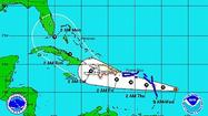 Tropical Storm Isaac emerged in the Atlantic on Tuesday afternoon, strengthening a little overnight and it's one Florida needs to keep an eye on.
