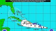 Much of Florida woke up in the cone of error, as Tropical Storm Isaac is projected to approach the state from the south on Monday – as a hurricane.