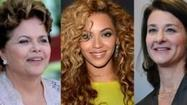 For nine years FORBES has ranked the 100 most powerful women in the world. These are the women who adhere to the traditional classifications of power (political and economic might) and those who have risen to the top of the social and cultural landscape. It is our annual snapshot of women who impact the world.
