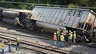 The derailment that killed two young women in Ellicott City Tuesday morning adds one more incident to a long history of CSX trains leaving the tracks in Maryland — from little-remembered events in the company's own railyards to the spectacular fire in the Howard Street Tunnel in 2001.