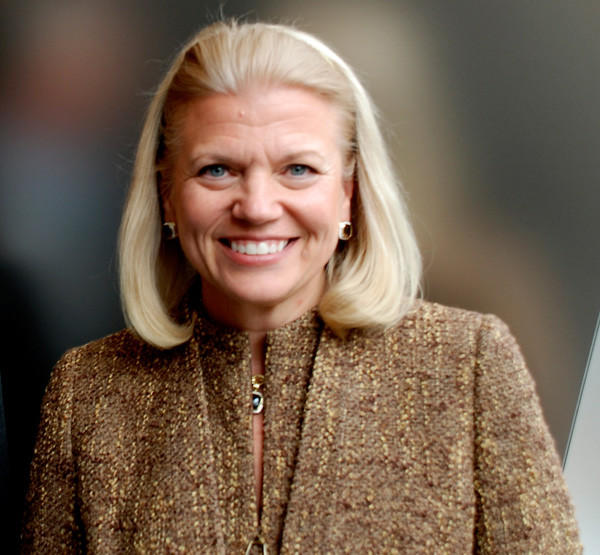 Virginia Rometty, CEO of IBM, in Oct. 2011.