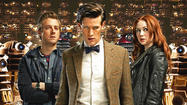 "The TARDIS and ""Doctor Who"" are landing back on BBC America in little over a week, the network announced Wednesday morning."